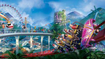 Planet Coaster Keyart