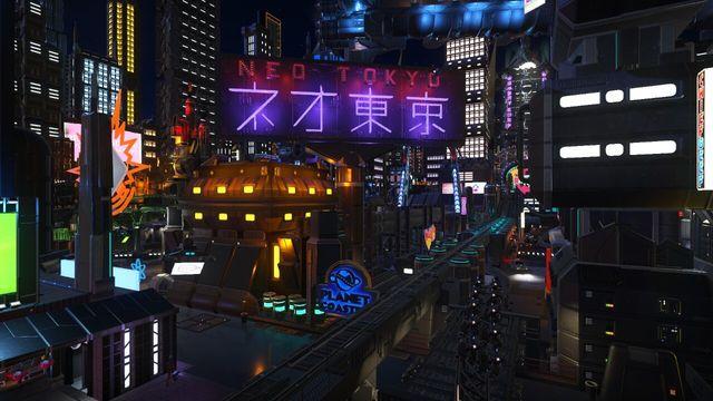 Neo Tokyo: Cyberpunk City