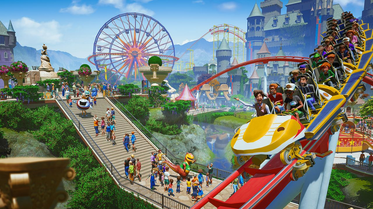 Planet Coaster: Console Edition keyart