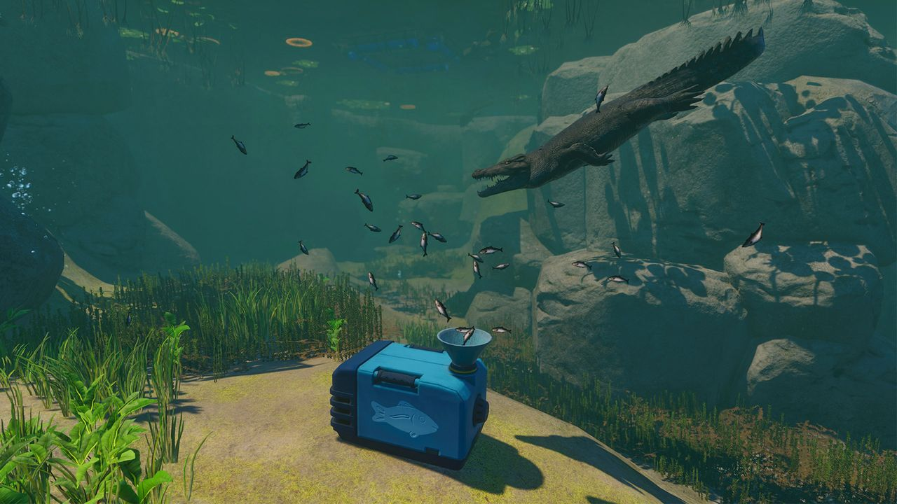 Planet Zoo 1.4 Update - Underwater feeder