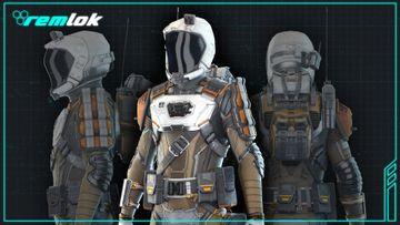 Remlock suit detail