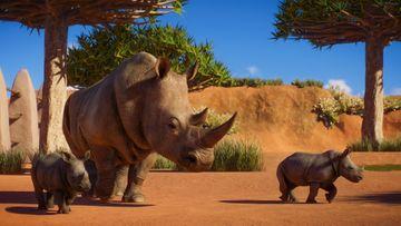 Planet Zoo Africa Pack Screenshot - Rhino 3