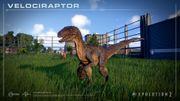 JWE2 screenshot - Velociraptor