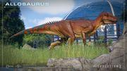 JWE2 screenshot - Allosaurus