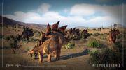JWE2 screenshot - Stegosaurus 2