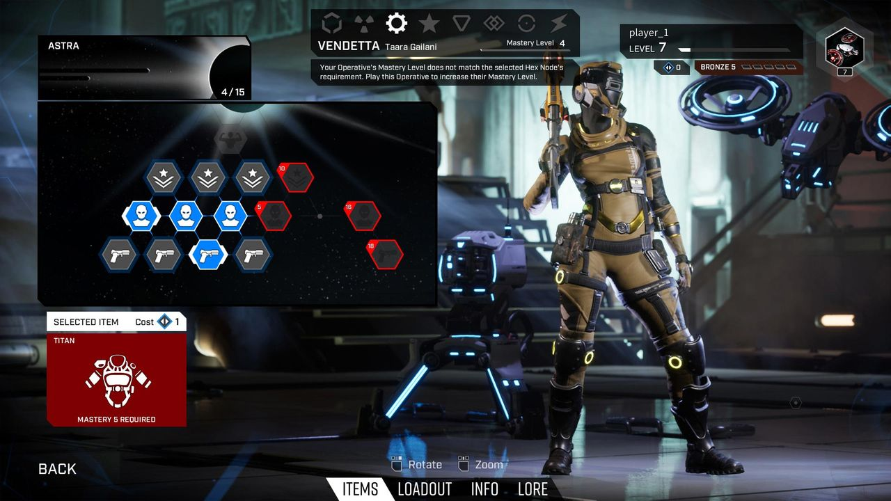 Player Progression In Lemnis Gate